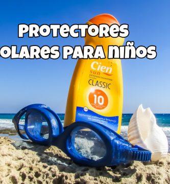 protectores solares para bebes